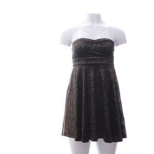 Free People W Mini Dress S Glittered